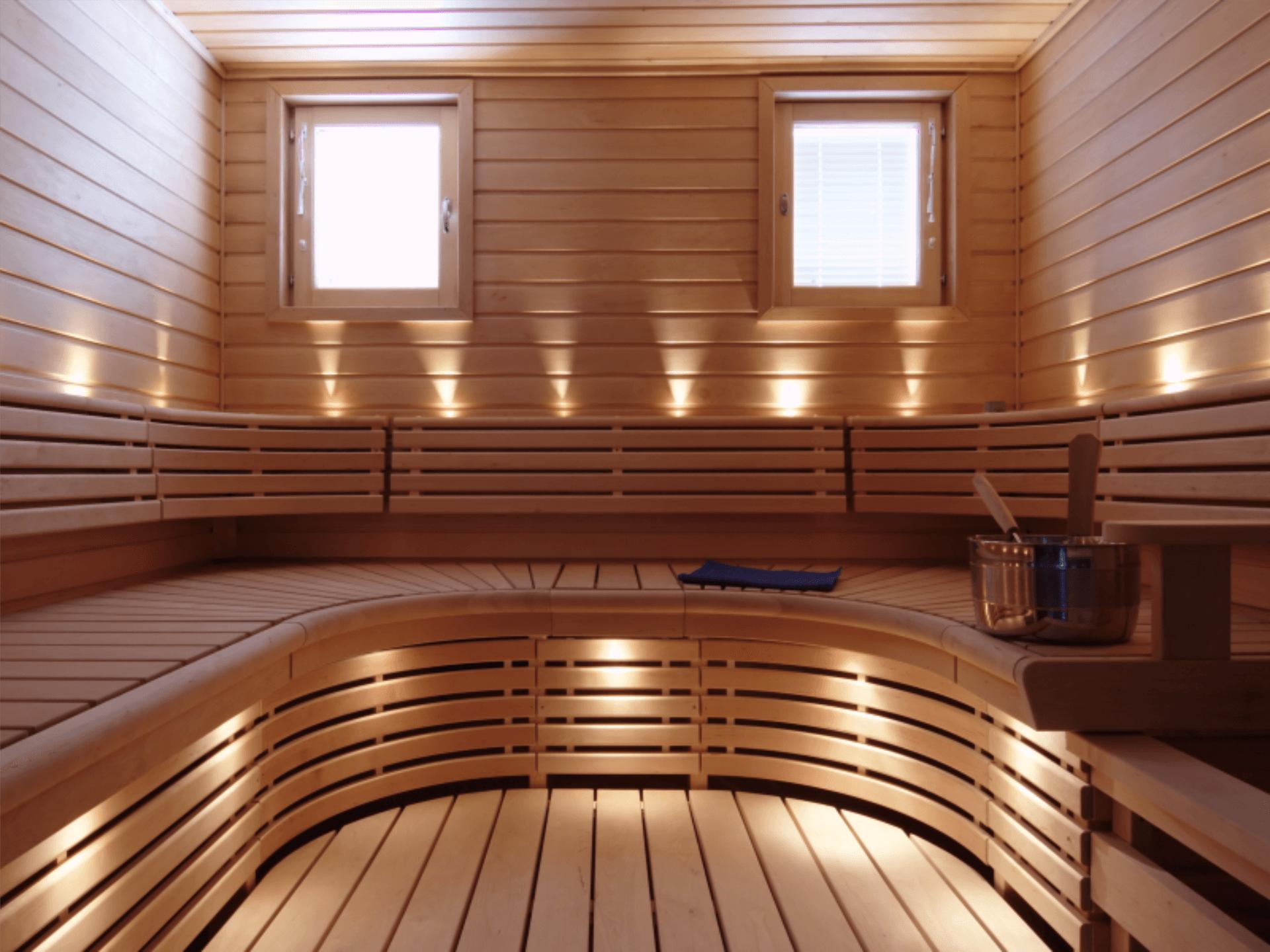 gewerblicher Saunabau