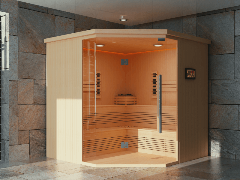 privater Saunabau